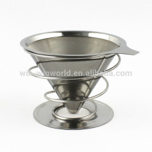 S/S Well Designed Funnel Coffee filter