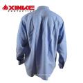 High qulity zodiac mens half sleeves formal linen plain shirt