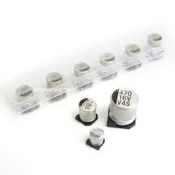 50V 1UF SMD estándar aluminio condensador electrolítico (TMCE24)