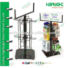 Commercial Product Display Shelf With Hooks