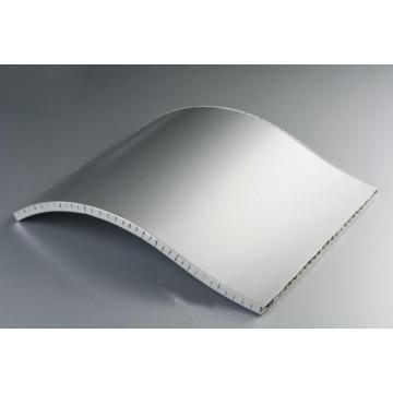 Paneles de panal de aluminio de forma especial para la decoración