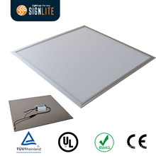 Luz de painel Ultrathin do diodo emissor de luz 600 600 milímetros, quadro de alumínio da luz de painel, luz de painel dos diodos emissores de luz de SMD 2835 com certificação de CE / RoHS