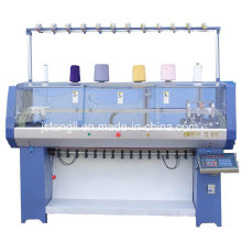 Auto Collar & Cuff Flat Knitting Machine