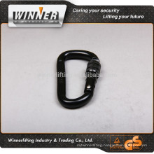 High security Carabiner and aluminum carabiner keyring