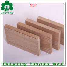 Veneer Faced MDF 4X8 Melamine Laminated MDF Board