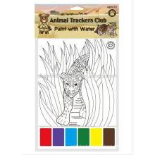 Kinder Farbe füllendes Buch / Kinder magisches Malerei-Buch