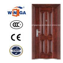 Panel Design Außen Außenbereich mit Metall Holz Stahl Tür (WS-108)