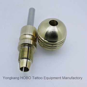 Heißer Verkauf Patrone Tattoo Rohr Messing Self-Lock Tatto Griffe: 35 mm