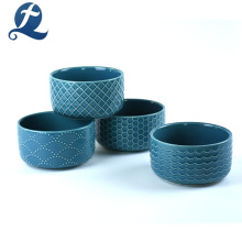 New Fashion Wholesale Price Custom Printing Ceramic Salad Bowl with Lid