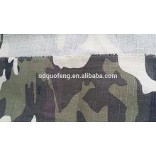 CVC impresso tecido uniforme do exército ripstop