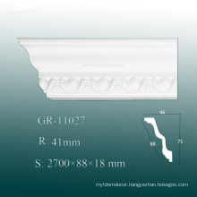 High Density Decorative PU Crown Mouldings/ Cornice Board Shapes