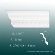 High Density Decorative PU Crown Mouldings/ Cornice Board Shapes