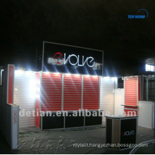 10'x20' exhibition booths design, portable aluminum exhibition booths system