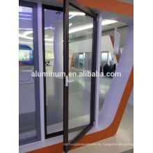 Al por mayor de aluminio de alta calidad de aluminio colgante de vidrio puerta