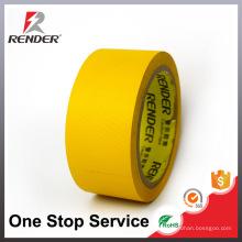 Materiais de isolamento Cinta de encadernação de cor baixa amarela, fita de embalagem adesiva