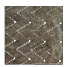 Tela de franela de punto de urdimbre de perlas de 10 mm