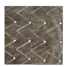 Трикотажная фланелевая ткань с жемчужной основой 10 мм