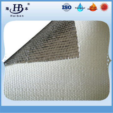 Thermal insulation aluminized fiberglass fabric