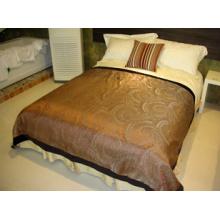 100% poliéster Hotel Bed Runner (DPH6089)