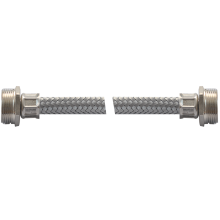 connecteur de robinet alimentation en eau tricoter tuyau en acier inoxydable