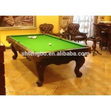 Billardtisch mit Ball Return chinesischen Billardtisch mit allen Sätzen Billard Zubehör