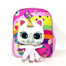 Hot Sale Cute 3D Animal Unicorn School Bag For Kids
