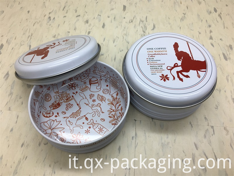 Tin storage cans