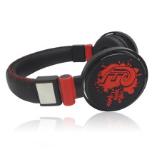 PU surface over ear head earphone