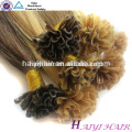 2016 Nouvelle Arrivée Dernière 12 Mois Double Drawn Full Cuticle 10A Nail Astuce / U Astuce Kératine Extension de Cheveux Humains