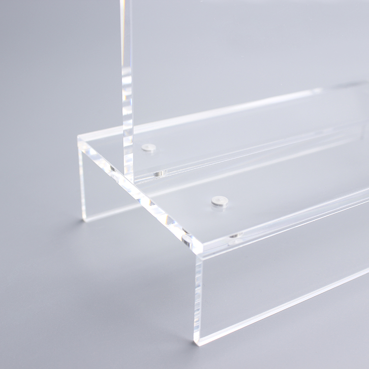 Clear Plastic Display