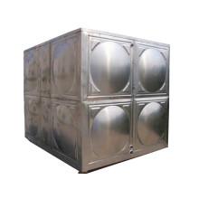 Réservoir d'eau en acier inoxydable avec type d'assemblage