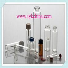 Tubo de vidrio neutro para ampollas y frascos, botella