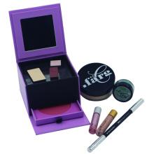 Papier Make-up setzt Verpackung