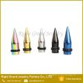 Neuestes Design multicolor Ohrkegel und Plug Körperschmuck piercing