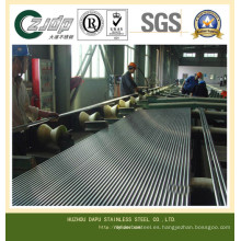 Tubo de acero inoxidable de 1,5 pulgadas de alta calidad