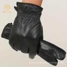 Best Quality Fashion Biker Leather Motorcycle Gloves