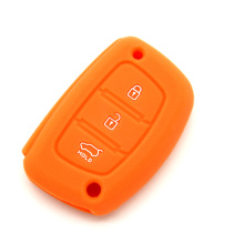 Embossed+design+Hyundai+silicone+car+key+holder