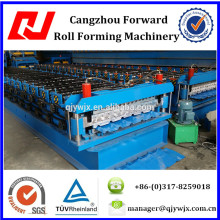 QJ-840-900 Double Layer steel roof/wall panel making machine