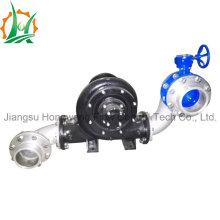 Pompe à eau centrifuge à moteur diesel à essence Hbp avec aspirateur assisté