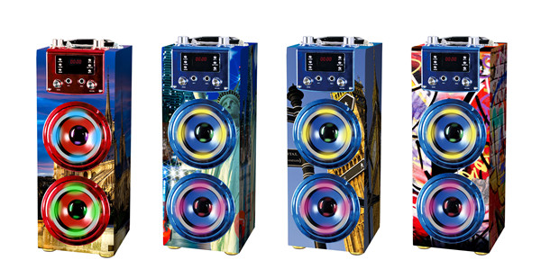 rechargeable Bluetooth Portable karaoke speaker