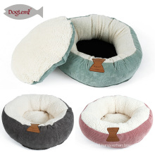 Mini Cat Bed Round Donut Dog Cat Bed Cushion House Bed Cat