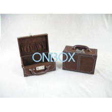 Custom Portable gift packaging boxes / file case with handl