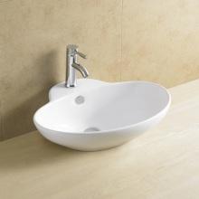 Cuenca de baño oval con agujero único grifo 8114