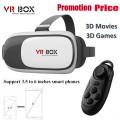 Neues Produkt Virtual Reality Vr Box 3D Gläser für Smart Phone 3D Vr Brillen Typ Verkauf