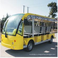Китай производство 11 мест электрический экскурсионный автобус для площади (DN-11)