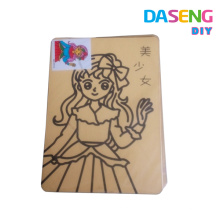 Kids interesting sand painting cards wholesale