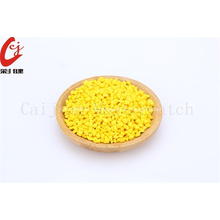 Grânulos amarelos de Masterbatch do produto comestível
