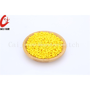 Yellow Food Grade Masterbatch Granules