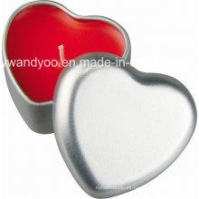 En forma de corazón cera de soja / velas de parafina para la boda y decoración de cumpleaños