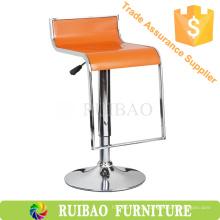 Ruibao Price Price ABS Plastic Bar Stool com descanso para os pés